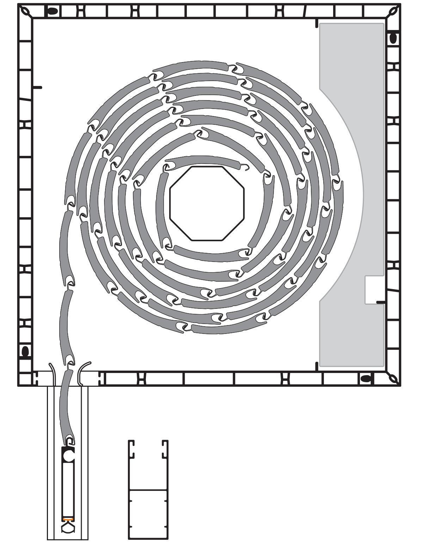 PVC roletna sa alu zastorom