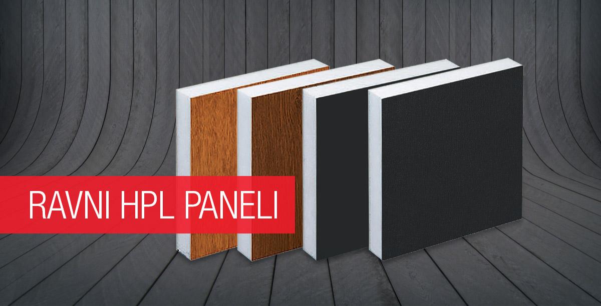 Ravni HPL paneli