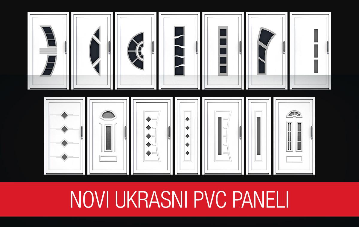 Novi ukrasni pvc paneli