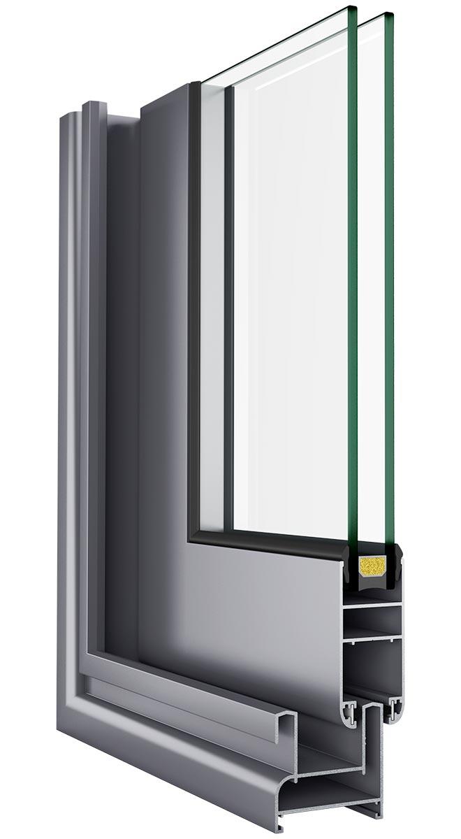 Asistal SL28 klizni sistem bez termo prekida