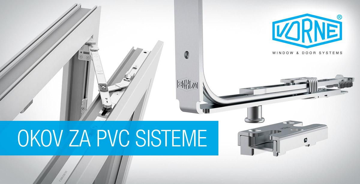 Vorne okov za PVC sisteme