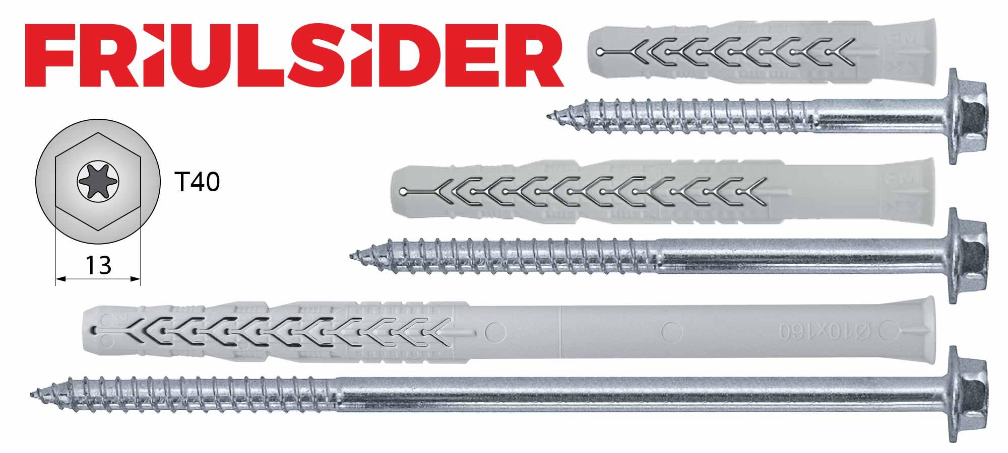Friulsider FM-X3 tipl i vijak