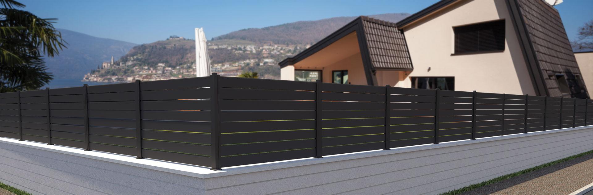 Eko dvorišne aluminijumske ograde